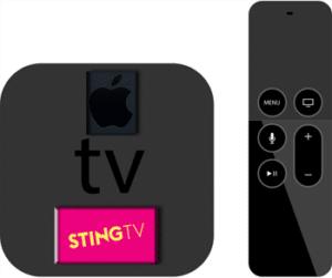 שירות Sting TV מתחדש עם ממשק חדש ל – Apple TV