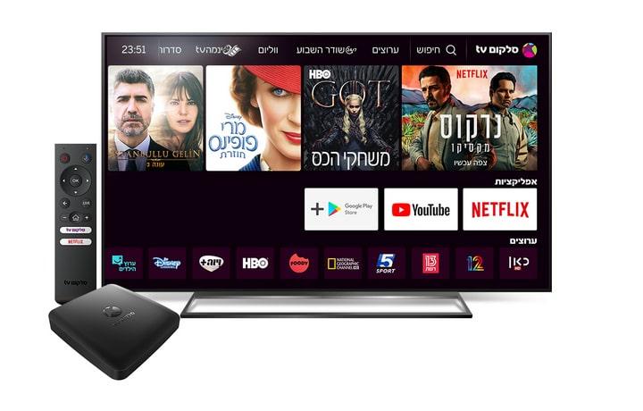 שיתוף פעולה בין נטפליקס לסלקום TV