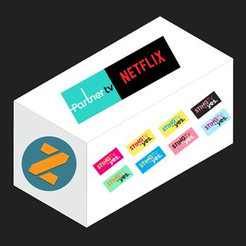 סטינג TV חבילה מושלמת ופרטנר טיוי חוזרת עם נטפליקס