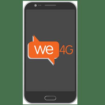 we4g מובילה את שוק הסלולר